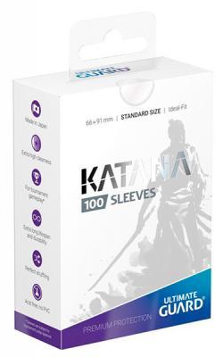 Katana Sleeves Standard Size Transparent (100)