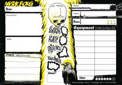 Mörk Borg Character Sheet