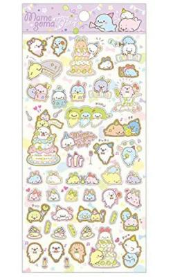 Mamegoma Seal Stickers: Mame Party