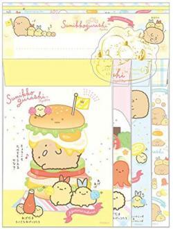 Sumikkogurashi Letter Set: Fried Food Friends