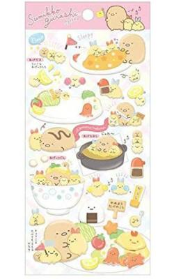Sumikkogurashi Stickers: Fried Food Friends