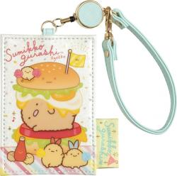 Sumikkogurashi Travel Card Holder: Fried Food Friends