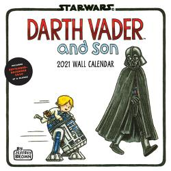 Darth Vader and Son 2021 Wall Calendar