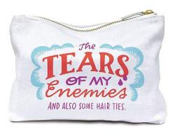 Enemy Tears Canvas Pouch