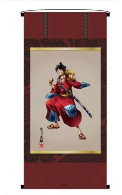 KirieArt Hanging Scroll Style Tapestry Luffy