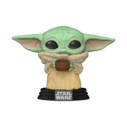 Child (Baby Yoda) with Cup Pop! Vinyl Figure