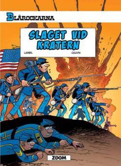 Blårockarna - Slaget vid kratern