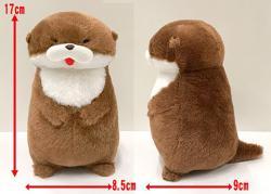 Kawauso Otter Plush: Medium Usobe