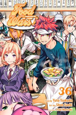 Food Wars Vol 36