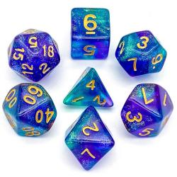 The Element of Arcane (set of 7 dice)