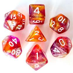 The Element of Fire (set of 7 dice)