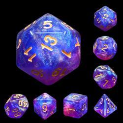 Blue Enchantress (set of 7 dice)