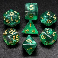 The Element of Growth (set of 7 dice)