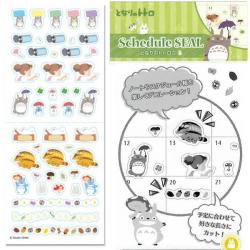Totoro Schedule Diary 2021 Stickers 1