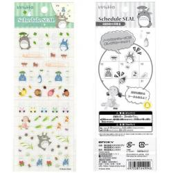 Totoro Schedule Diary 2021 Stickers 2