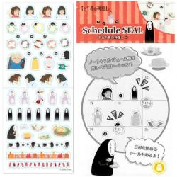 Spirited Away Schedule Diary 2021 Stickers