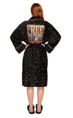 Harry Potter Dobby Free the House Elves Ladies Robe