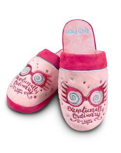 Luna Lovegood Exceptionally Ordinary Pink Ladies Mule Slippers