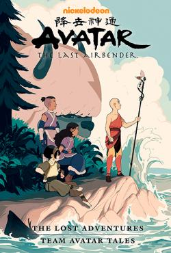The Lost Adventures & Team Avatar Tales Library Edition