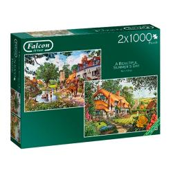 A Beautiful Summer's Day (2x1000 pieces)
