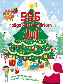 555 roliga klistermärken - Jul