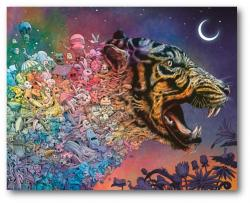 Animorphia: Tiger in the Night 1000 Piece Jigsaw Puzzle