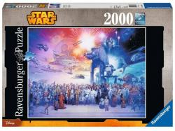 Jigsaw Puzzle Star Wars Universe (2000 pieces)
