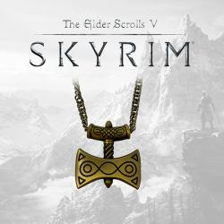 Elder Scrolls V Skyrim Necklace Amulet of Talos Limited Edition
