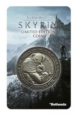 Elder Scrolls V Skyrim Collectable Coin Dragonborn
