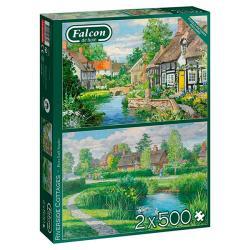 Riverside Cottages (2x500 pieces)