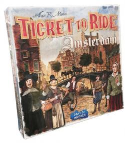 Ticket to Ride - Amsterdam (Skandinavisk Utgåva)