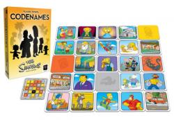 Codenames Simpsons Family Edition