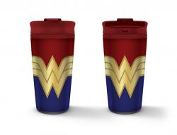 Wonder Woman Metal Travel Mug Strong