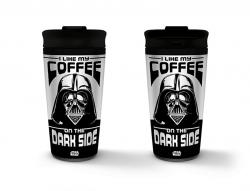 Metal Travel Mug I Like my Coffee on the Dark Side