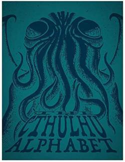 Cthulhu Alphabet - Cerulean Foil