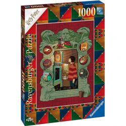 Harry Potter Puzzle 1000 pcs - Harry with the Weasley Family