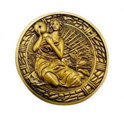 Resident Evil 2 Replica 1/1 Maiden Medallion