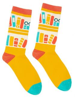 Bookshelf Socks (Size Large)