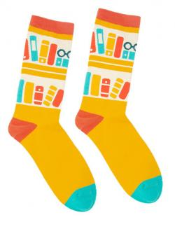 Bookshelf Socks (Size Small)