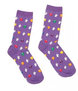 Read the Rainbow Socks (Size Large)
