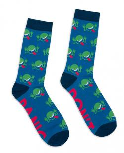 Hitchhiker's Guide to the Galaxy Socks (Size Large)