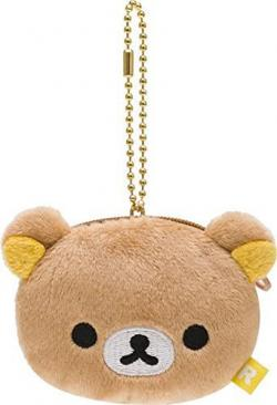 Rilakkuma Plush Mini Hanging: Coin Pouch