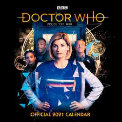 Doctor Who 2021 Official Calendar