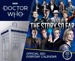 Doctor Who Day-to-Day 2021 Calendar