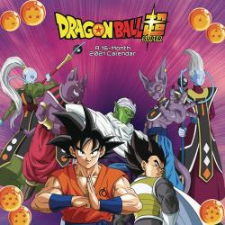 Dragonball Super 2021 Wall Calendar