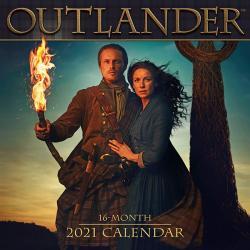 Outlander 2021 Wall Calendar