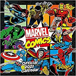 Marvel Retro Classic 2021 Wall Calendar