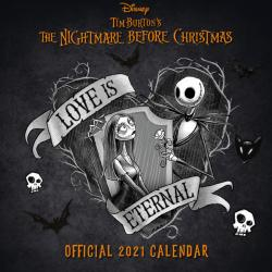 Nightmare Before Christmas 2021 Wall Calendar