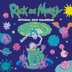 Rick and Morty 2021 Wall Calendar