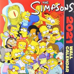Simpsons Wall Calendar 2021
